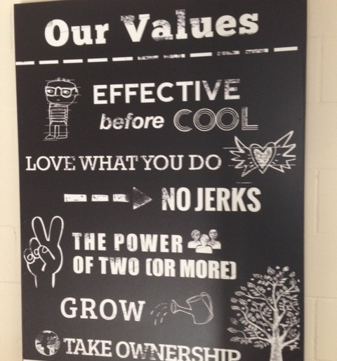 Here's how to make your values come alive