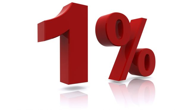 What is your 1% goal in the next 30 days?