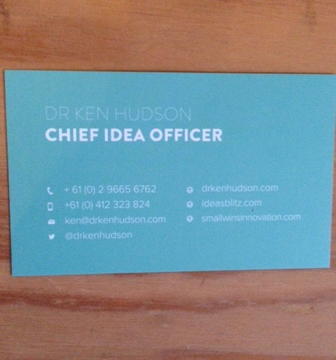 How a small change in my business card made a big difference