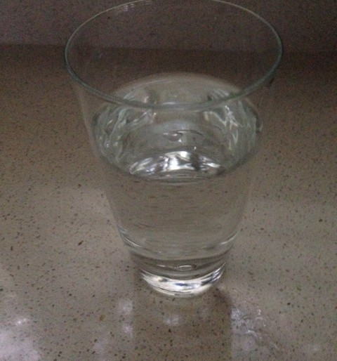 What is your glass of water moment of truth?